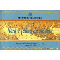 1000 Lire Flora e Fauna 1994