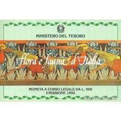 500 Lire Flora e Fauna 1992