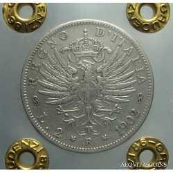 Vitt. Eman. III - 2 Lire 1902 RR