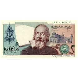 2000 Lire Galileo 1983 Numeri Verdi