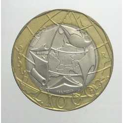 1000 Lire 2001 - da Serie Zecca