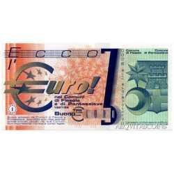 Esperimento di Circolazione - Buoni Euro