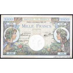 France - 1000 Francs 1940