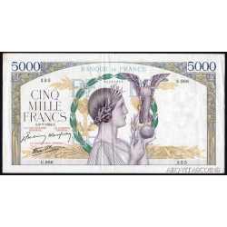 France - 5000 Francs 1942