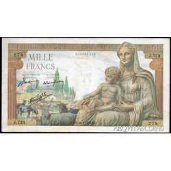 France - 1000 Francs 1942