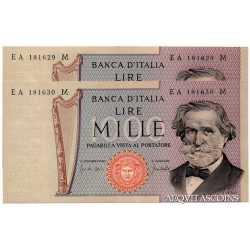 1000 Lire Verdi 1969