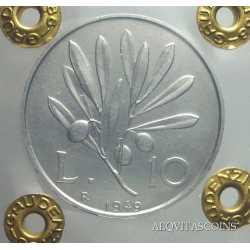 10 Lire  Ulivo 1949 FDC