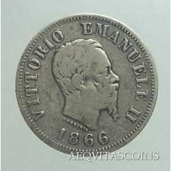 Vitt. Eman. II - 50 Cent 1866 M