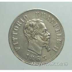 Vitt. Eman. II - 50 Cent 1863 M