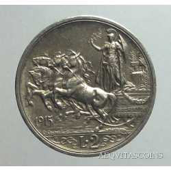 Vitt. Eman. III - 2 Lire 1915