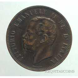 Vitt. Eman. II - 10 Cent 1862 M