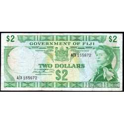 Fiji - 2 Dollars 1971