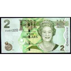 Fiji - 2 Dollars 2012