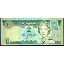 Fiji - 2 Dollars 1996