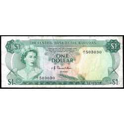 Bahamas -  1 Dollar 1974