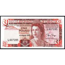 Gibilterra - 1 pound 1988
