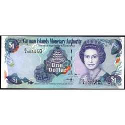 Cayman Islands - 1 Dollar 2006