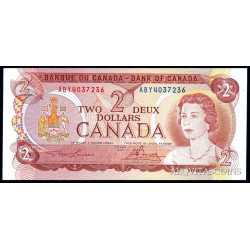 Canada - 2 Dollars 1974