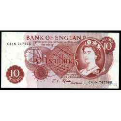 Great Britain - 10  Shillings 1966 - 70