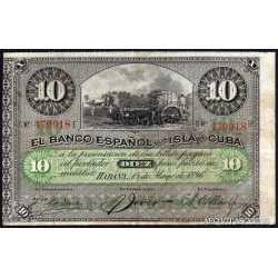 10 Pesos 1896