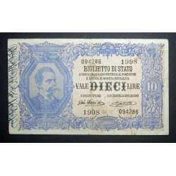 10 Lire 1914