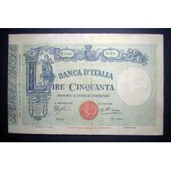 50 Lire Barbetti 1935  Matrice
