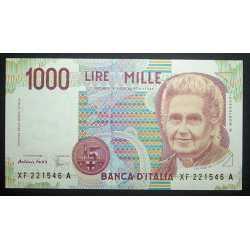 1000 Lire Montessori XF