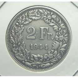 Switzerland - 2 Francs 1944