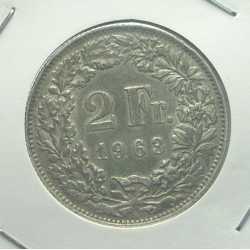 Switzerland - 2 Francs 1963